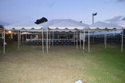 3 white 10x10 tents