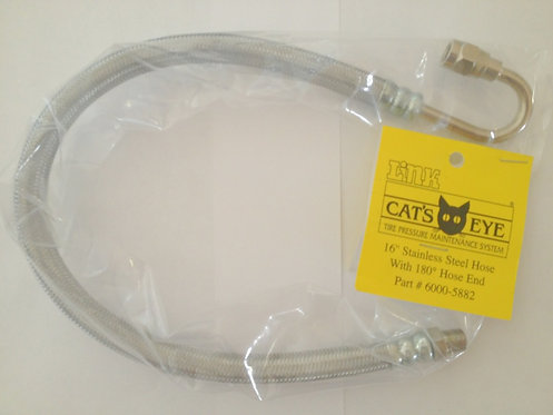 Cat's Eye Stainless Outer Dual Hose