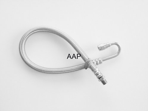 """12"""" Stainless Outer Hose"""