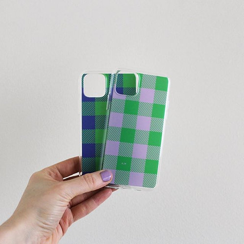 Gingham phone case