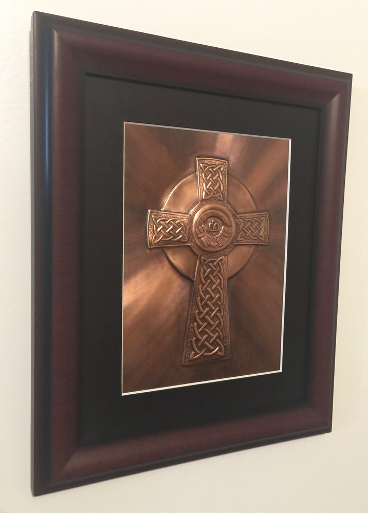 Claddagh Cross $132.00