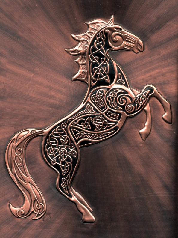Celtic Knot Horse