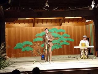 大阪の能楽殿での出来事