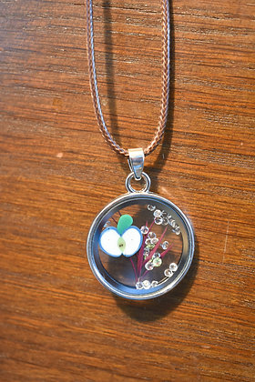 Apple Picking Necklace