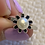 Thumbnail: Pearl Black Flower Ring