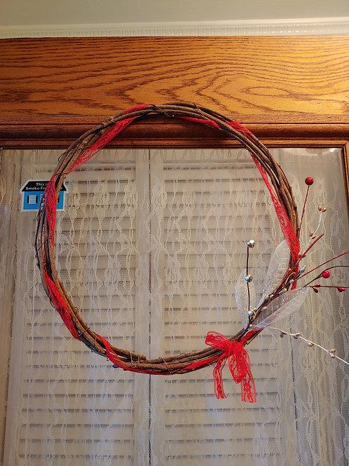 Red Winter Wreath