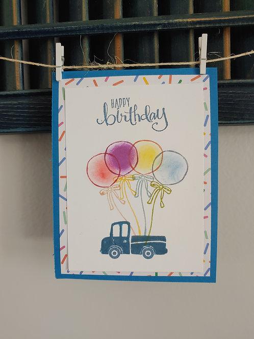 A Truckin' Good Birthday