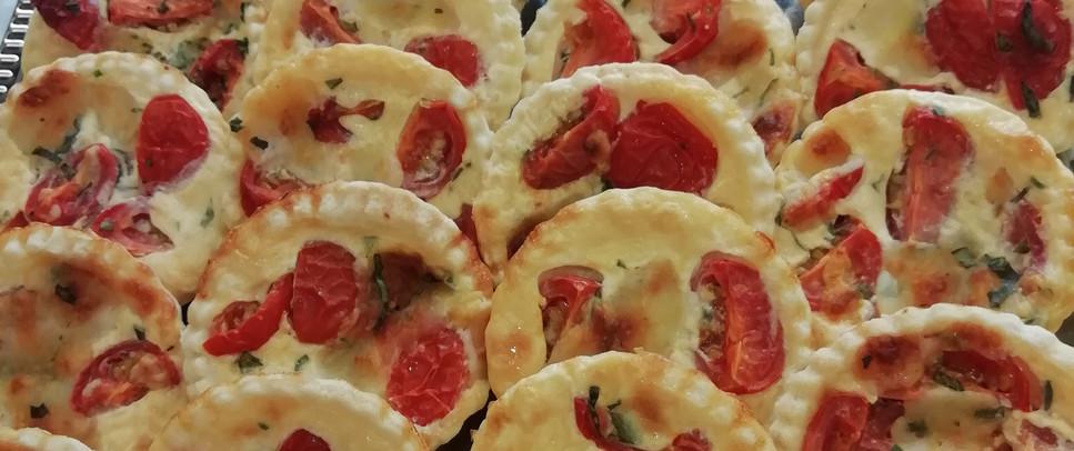 Miniquiche -Tomate/ Mozzarella