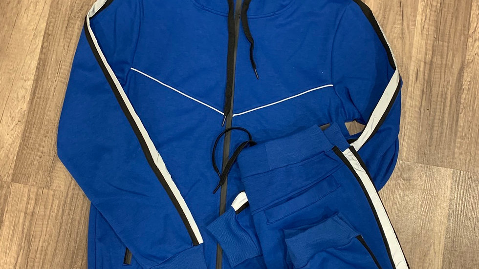 Reflessi tech suit royal blue