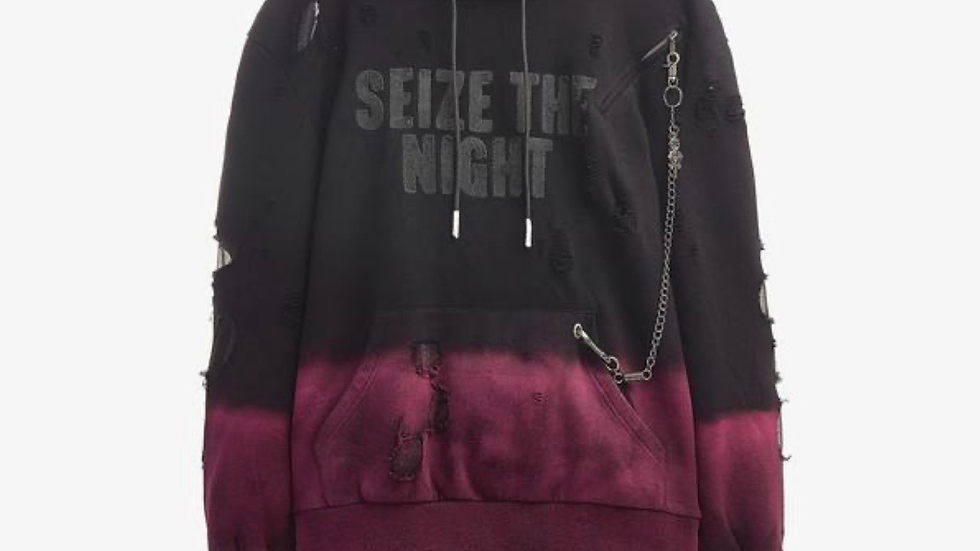 Irochi seize the night hoodie