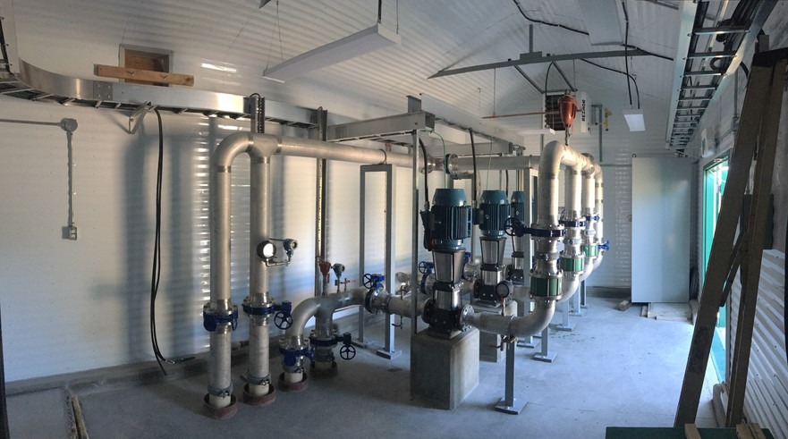 Booster Station Piping and Pumps.jpg