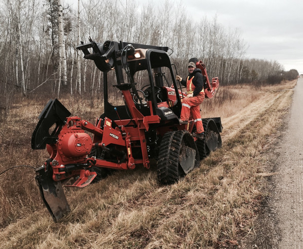 Ditch Witch Plow