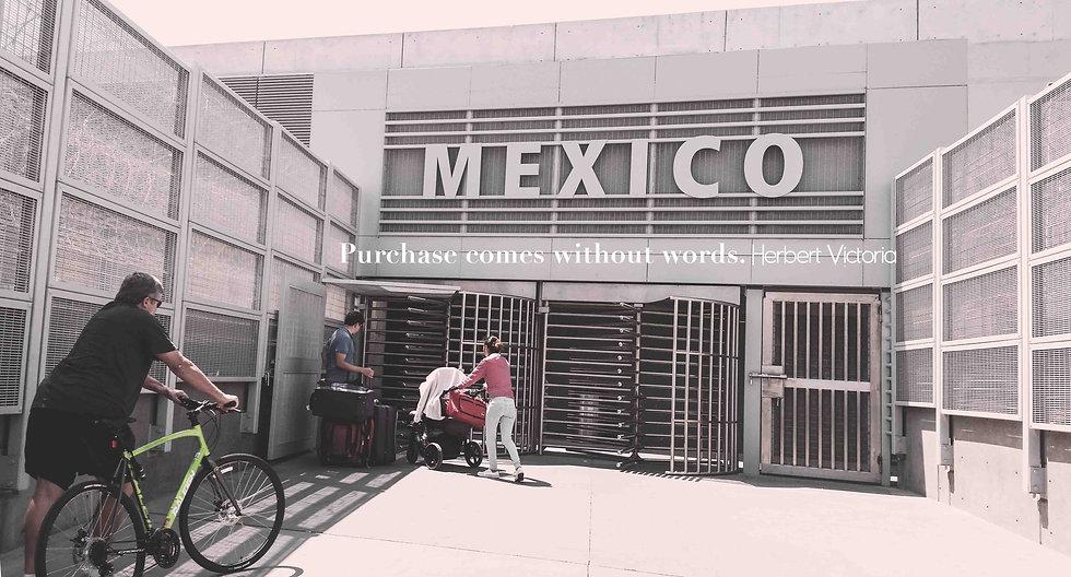 """""""At the Border, F*** The Wall"""" Tijuana, Mexico 2016"""