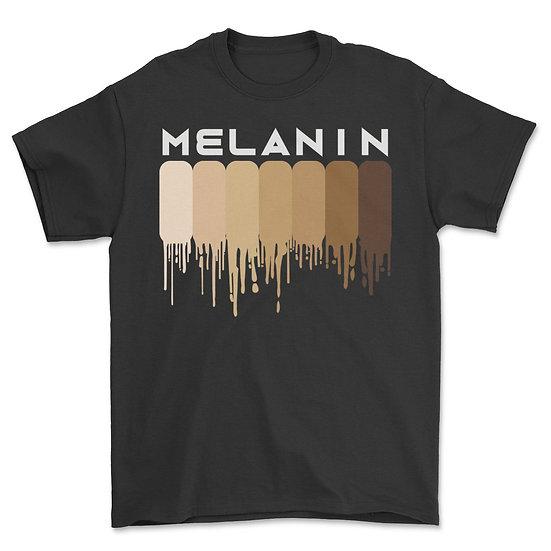 Drippin Melanin Shirt for Women Pride - Gifts Black History T-Shirt