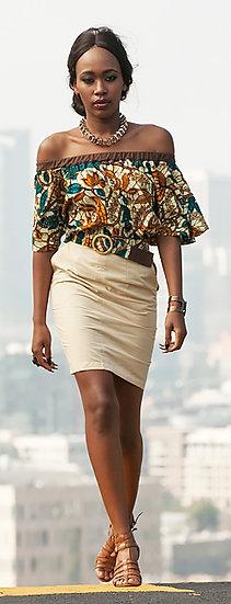 "Strapless Kimono Top Only ""Moderne Mode"""