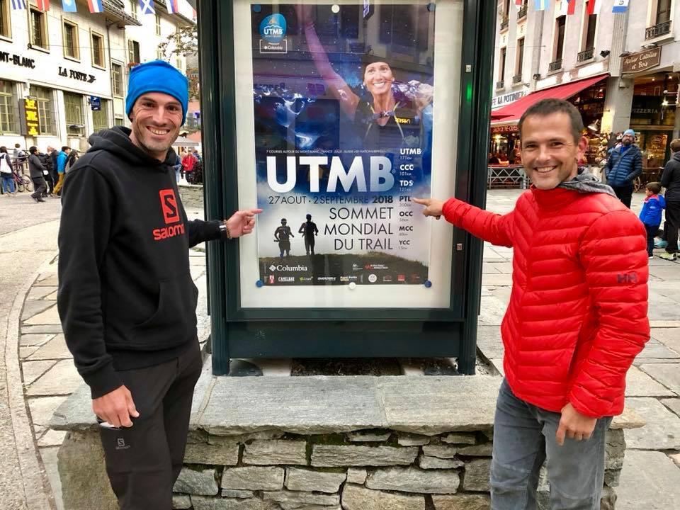 Iker Karrera y Zigor Iturrieta en Chamonix 2018