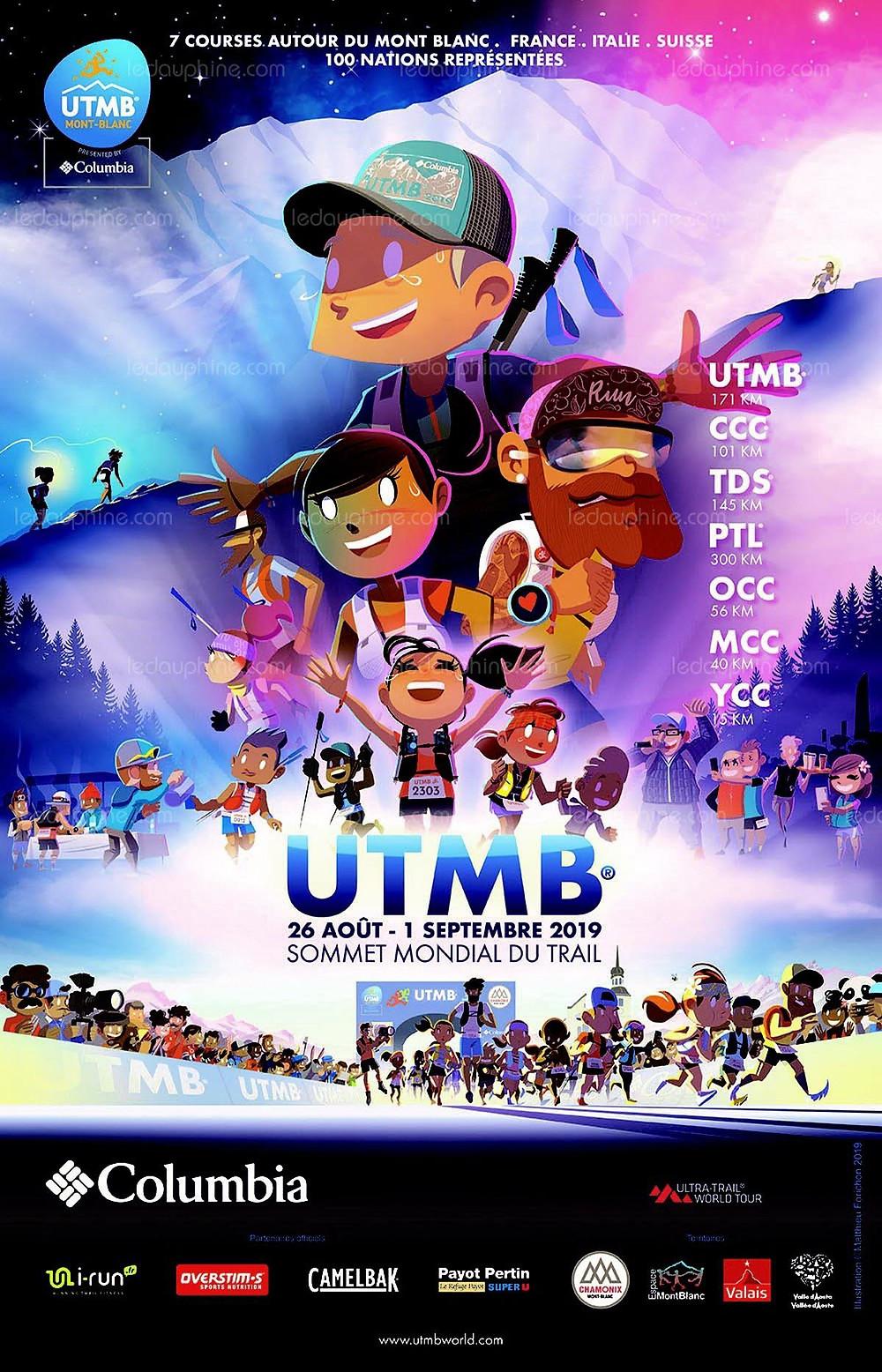 Cartel UTMB 2018