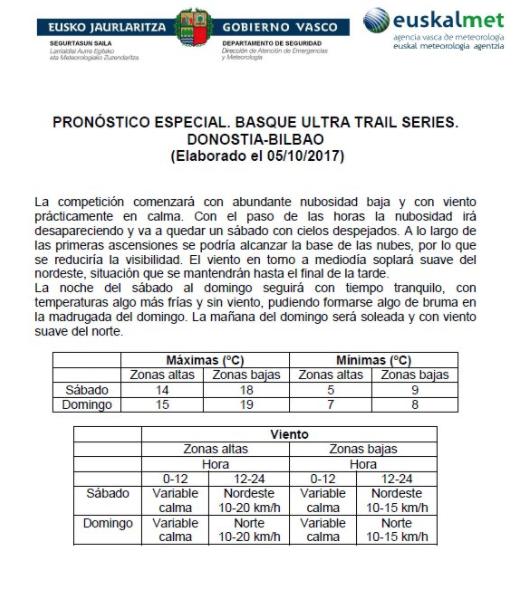 Ultima prueba del Basque Ultratrail Series (Donostia - Bilbao 140 km - 16.600m)