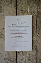 Marier l'image et le texte, Domaine de Saint-Vallier