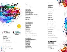 """Exposition """"Touches d'Art"""" au Palais Montcalm: 28 septembre au 25 octobre 2018"""