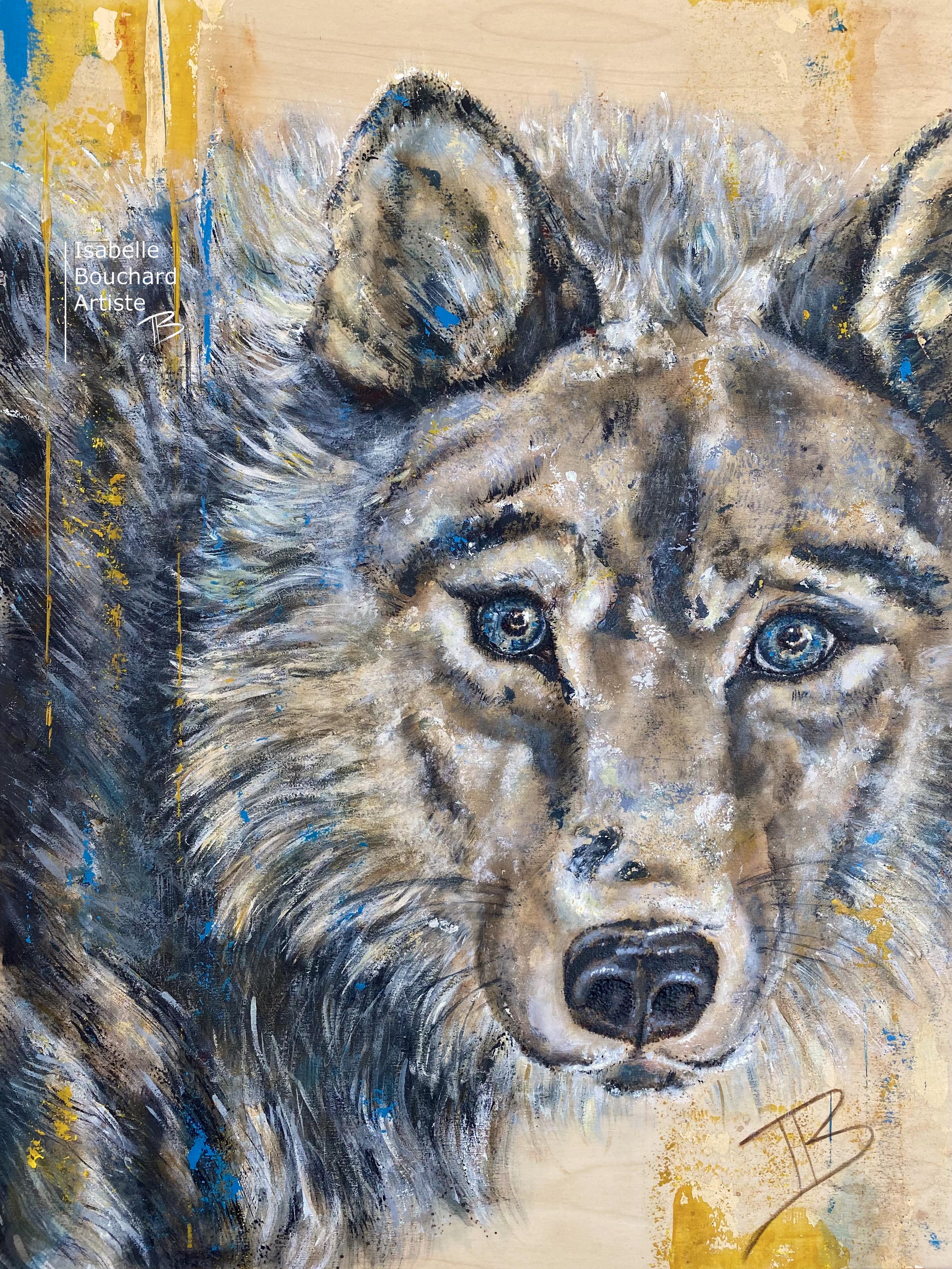 Loup, Isabelle Bouchard artiste