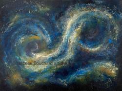 Isabelle Bouchard artiste Galaxie II