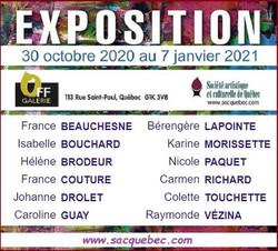 Expostion OFF Galerie novembre-decembre
