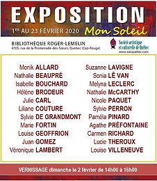 Exposition bibliothèque Roger Lemelien: du 1er au 23 février 2020
