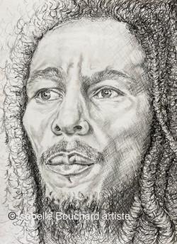 Bob Marley Isabelle Bouchard artiste