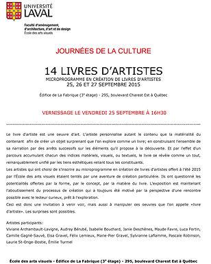 14 LIVRES D'ARTISTES