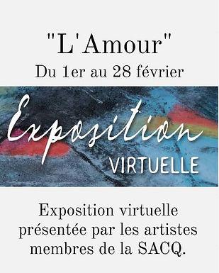 Exposition virtuelle SACQ de février: L'Amour