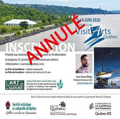Visit'Arts Québec (CANCELLÉ)