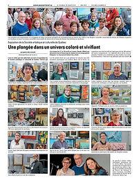 Exposition de la Société artistique et culturelle de Québec Une plongée dans un univers coloré et vivifiant