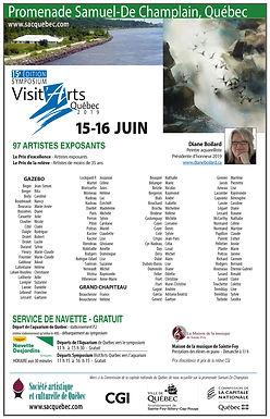Visit'Arts Québec: 15 et 16 juin 2019