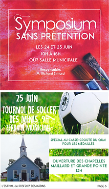 Symposium Sans prétention: 24 et 25 juin 2017