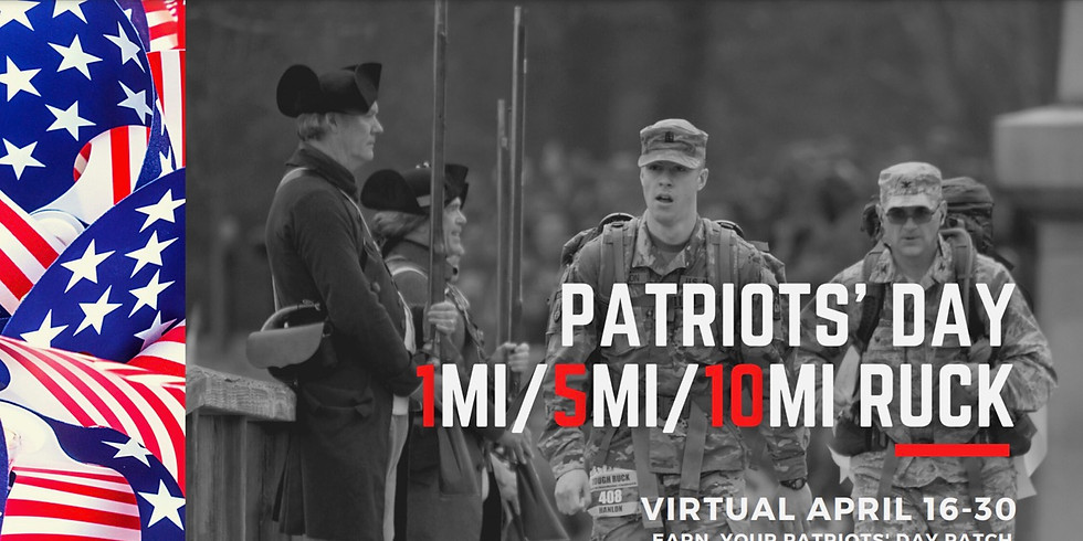 Patriots' Day Ruck