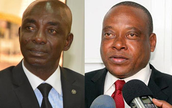 Justin Bitakwira B. et Steeve Mbikayi, députés nationaux, anciens du GP/UNC & alliés