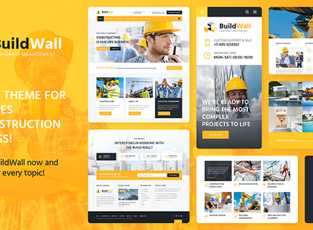 Looking for the Perfect Construction Multipurpose Wordpress Theme?