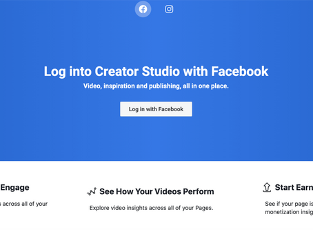 What You Need to Know About Facebook Creator Studio