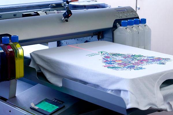 Прямая цифровая печать. Текстильный принтер. Полный Принтец