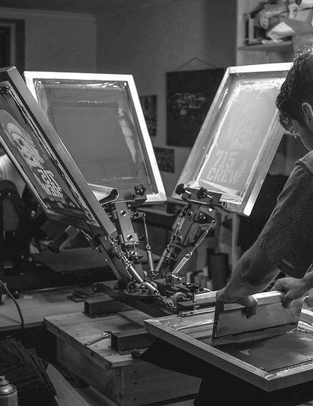 Шелкография. Трафаретная печать Полный Принтец