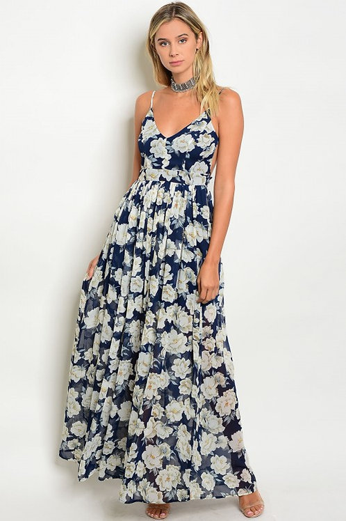 Floral Back Out Maxi