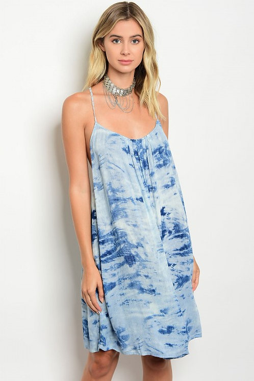 Sky Blue Tye Dye