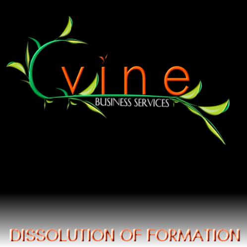 Dissolution of Formation