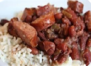 Red Beans and Rice wih sausage