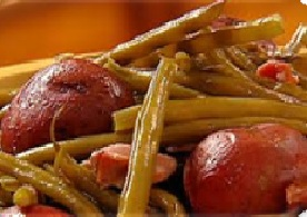 Green Beans with Red Potatoes Bacon