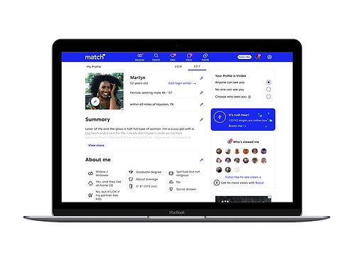 Savvy Custom Dating Profile