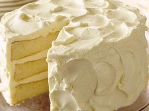 Verglo's Signature White Cake