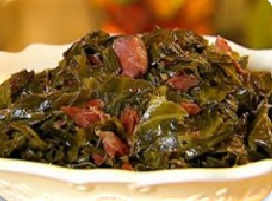 Greens with Smoked Pork