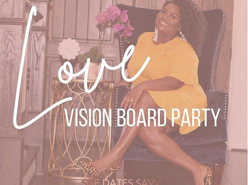 LOVE VISION BOARD Virtual Party